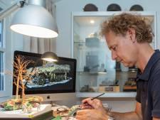 Roger Hurkmans oogst internationale faam met zijn diorama's: 'Dichter bij de oorlog kun je niet komen'