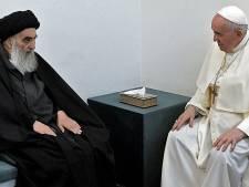 Sjiïtische ayatollah in gesprek met paus: 'Iraakse christenen moeten in vrede kunnen leven'