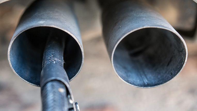 Onderzoek naar de uitstoot van een Volkswagen Beeld epa