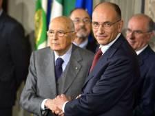 L'Italie tient son gouvernement
