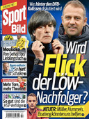 Sport Bild speculeert met Hansi Flick (Bayern) al over de opvolging van Löw.
