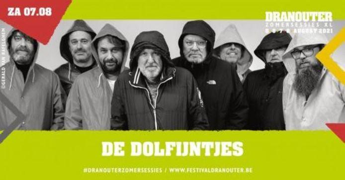 Onder meer De Dolfijntjes worden aan de affiche toegevoegd.