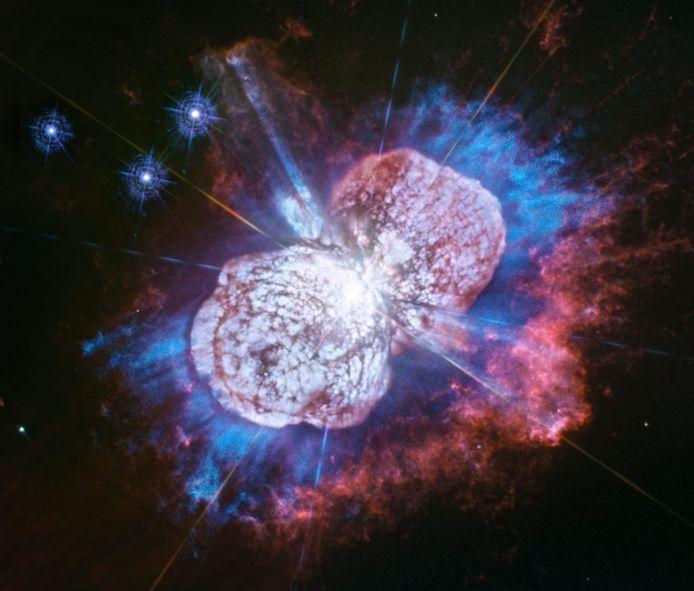 La nébuleuse d'Eta Carinae