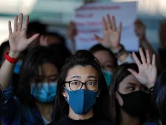 Trump ondertekent wetten die betogers in Hongkong steunen