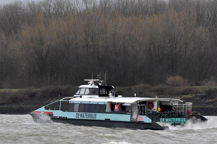 De Waterbus op de Schelde: volgens PVDA kan ze ook in de dokken het woon-werkverkeer flink helpen.
