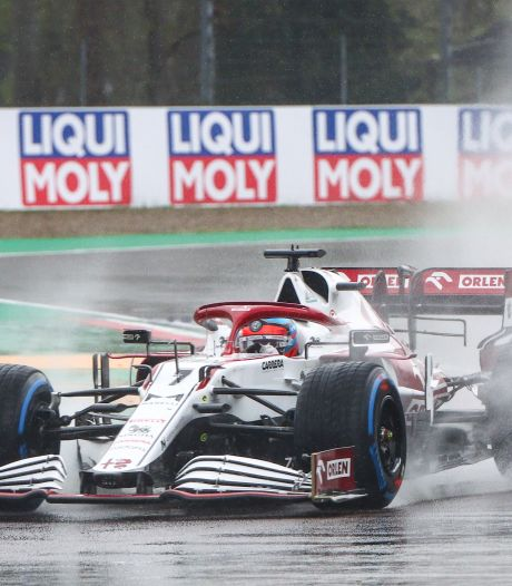 Weer tegenslag Räikkönen: tijdstraf na fout in Italië blijft staan