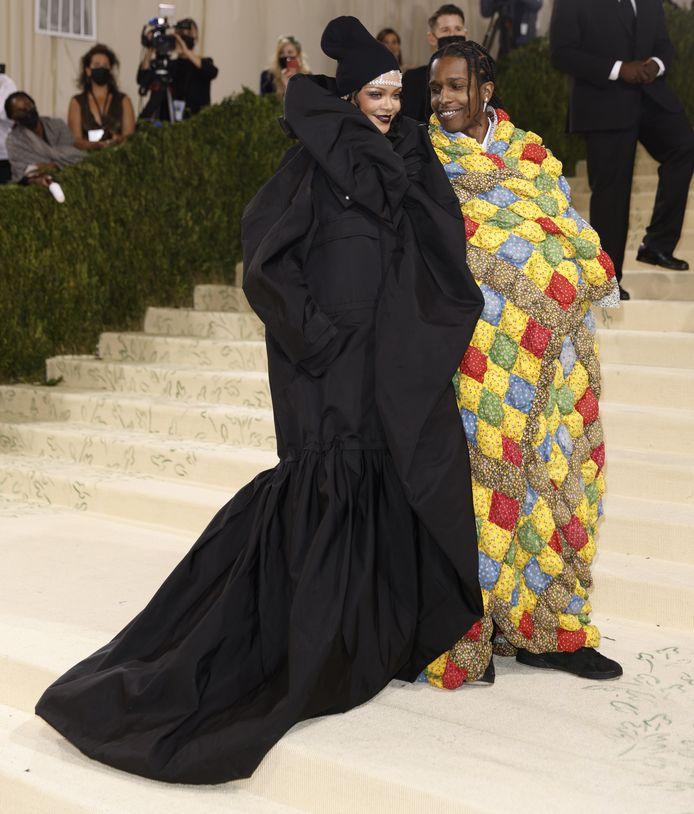Rihanna en ASAP Rocky.