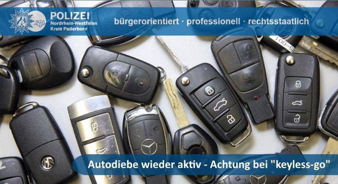 De drie Nederlanders gingen razendsnel te werk, meestal door middel van zogenoemde key-less entry.