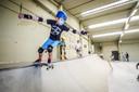 Jongeren kunnen zich volop uitleven op de obstakels.