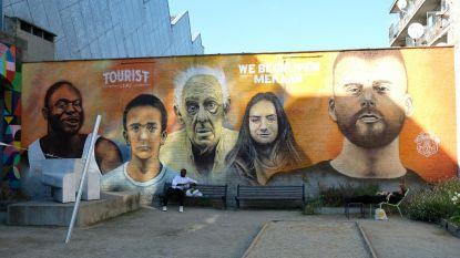 Tourist LeMC nu ook te zien op graffitimuur