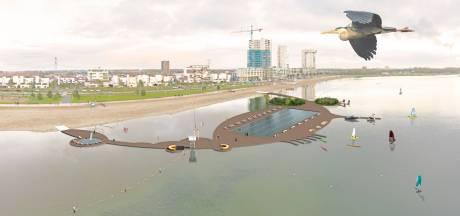 Bewoners hopen op zwembad met verwarmd water in Zevenhuizerplas: 'Dit maakt Nesselande echt leuker'