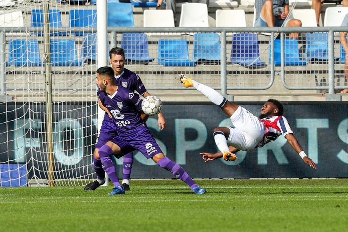20-09-2020: Voetbal: Willem II v Heracles Almelo: Tilburg (L-R): John Yeboah of Willem II