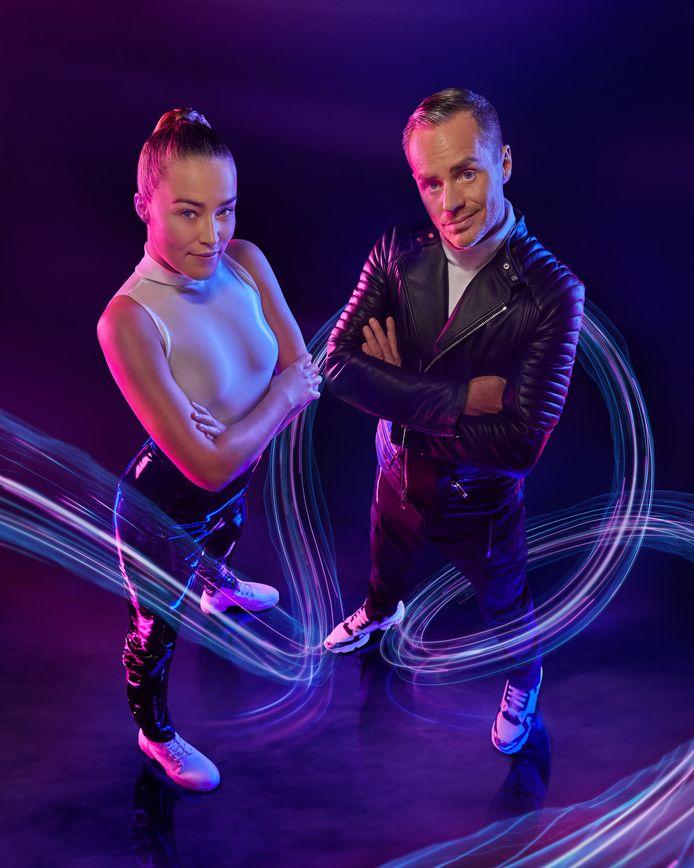 Geraldine Kemper en de Vlaamse dj Peter Van de Veire presenteren Big Brother 2021.