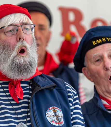 Koren zingen uit volle borst in Willemstad