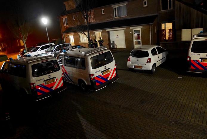 Woningoverval Spank (Gageldonk) in Breda op 11/12/16.<br /><br />Perry Roovers / MaRicMedia