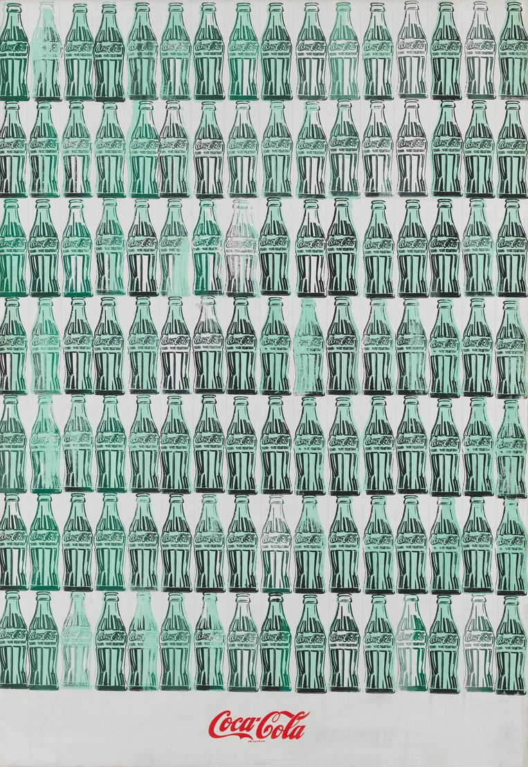 Andy Warhol: Green Coca-Cola Bottles. Beeld 2019 The Andy Warhol Foundation for the Visual Arts, Inc. / Licensed by Artists Rights Society (ARS), New York