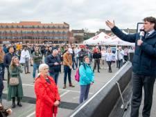 Bijeenkomst Forum voor Democratie in Harderwijk: geen mondkapjes, maar ook geen incidenten