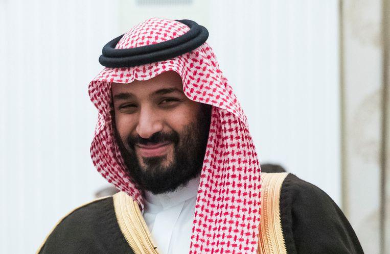 De Saoedische kroonprins Mohammed bin Salman. Beeld AP