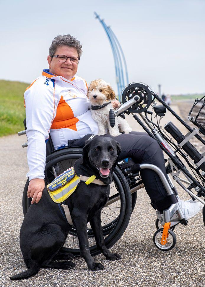 Mirjam Peper, de koningin van de Paralympics van Peking, woont sinds vier jaar in Vlissingen.