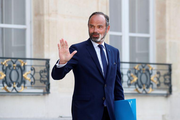 De Franse eerste minister Edouard Philippe. Beeld AP