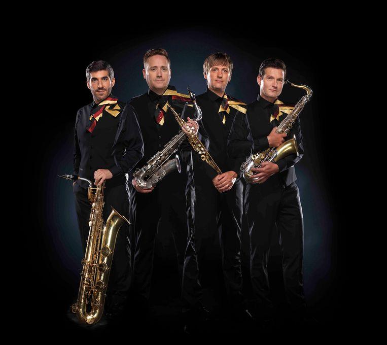 Het Amstel Quartet. Beeld Tino Nooten