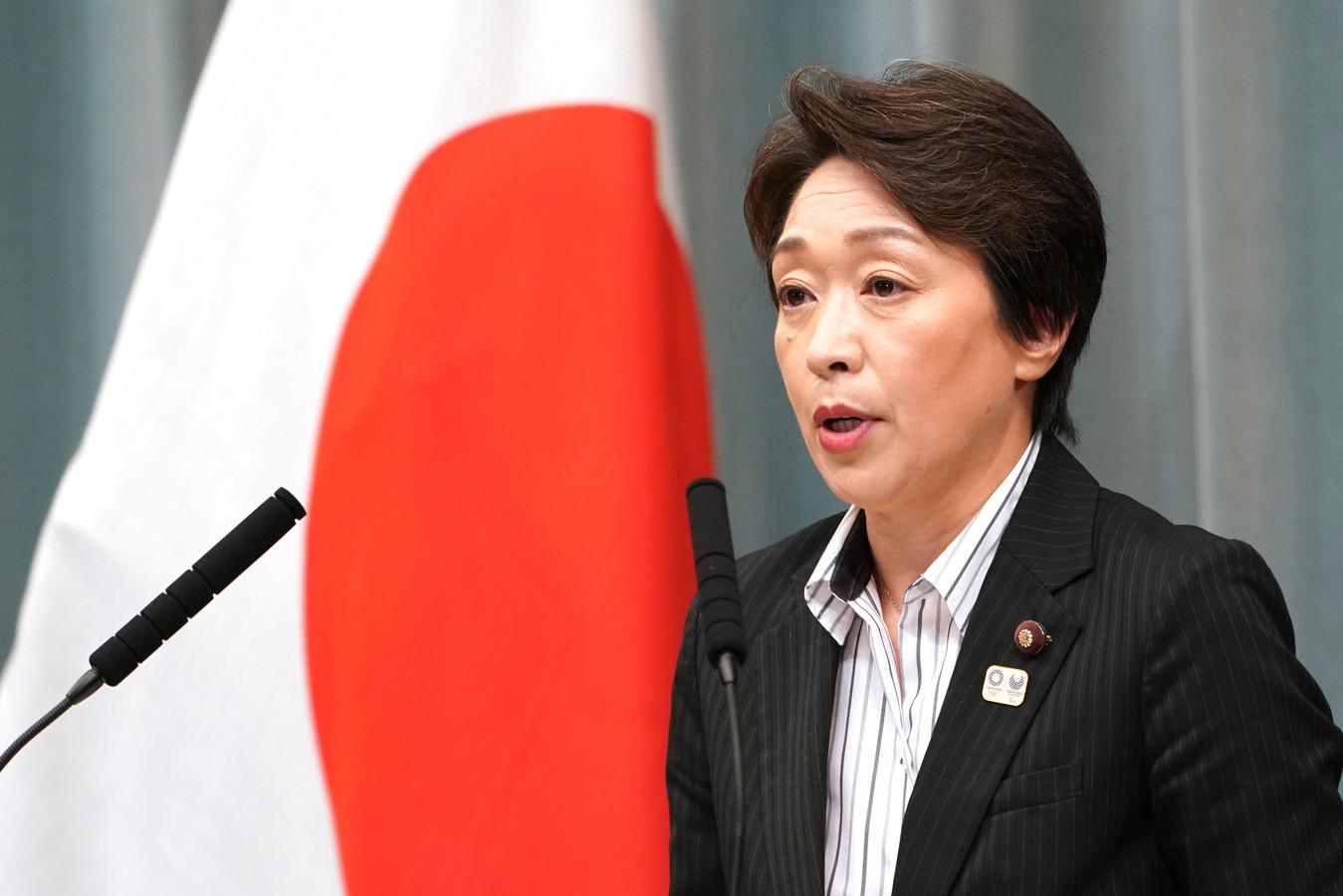 minister Seiko Hashimoto van Sport.