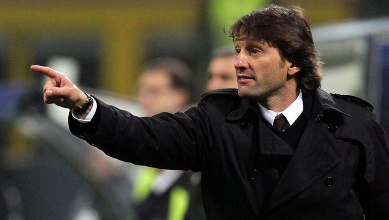Leonardo, de Braziliaanse coach van AC Milan. Foto EPA Beeld