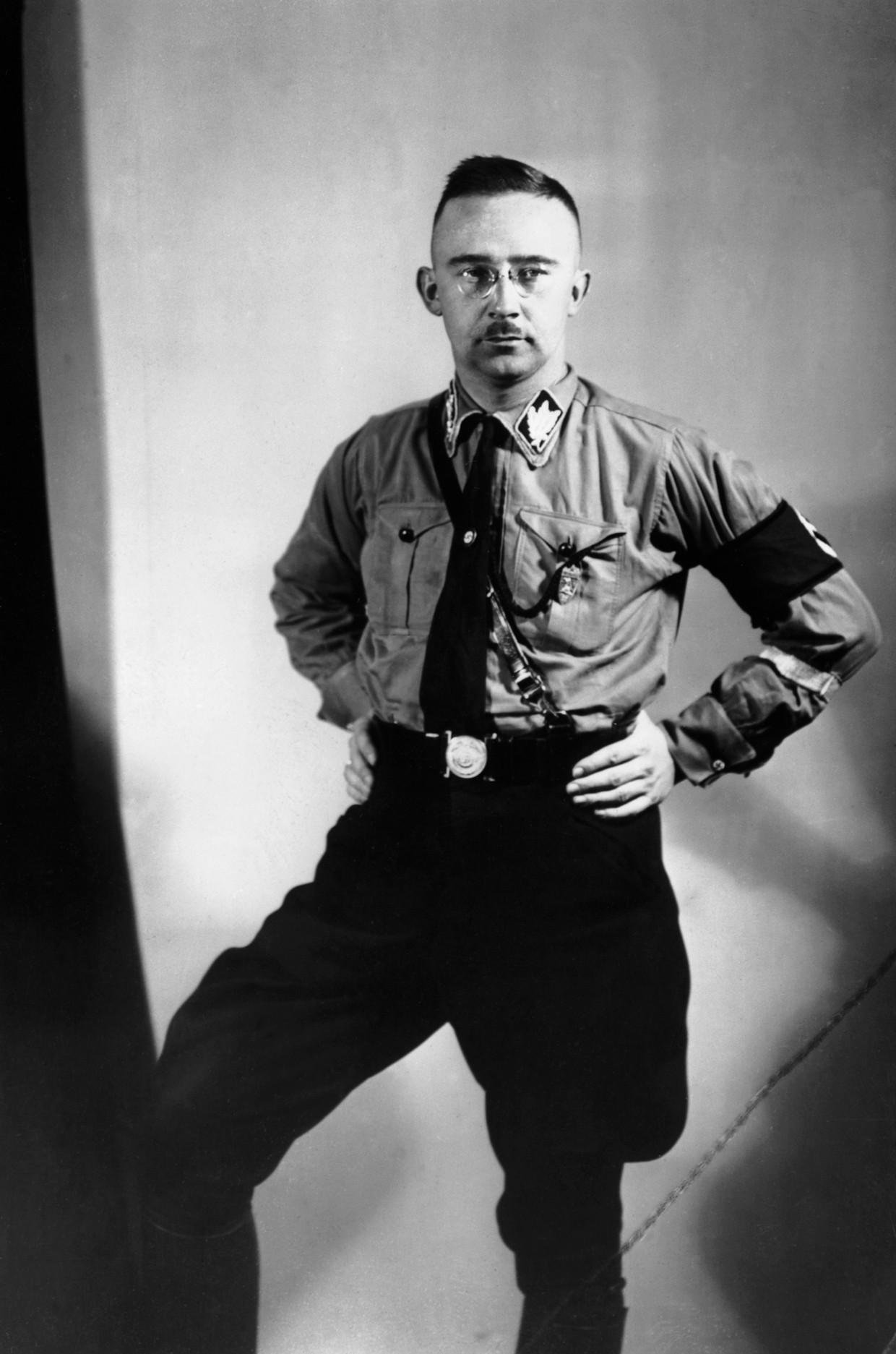 Heinrich Himmler in 1933. Beeld Corbis via Getty Images