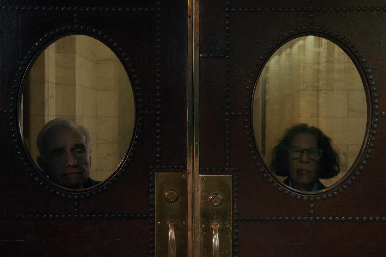 Martin Scorsese en Fran Lebowitz in 'Pretend It's a City'.