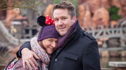 'Thuis'-koppel hernieuwt samen met kijkers huwelijksbeloften in Disneyland Paris