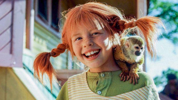 Inger Nilsson als Pippi Langkous