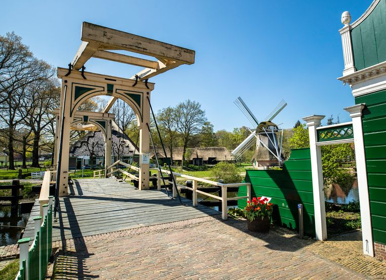 Een leeg Openluchtmuseum in Arnhem.  Beeld Hollandse Hoogte /  ANP