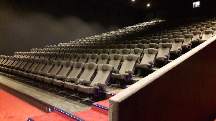 De stoelen van Euroscoop Cinema.
