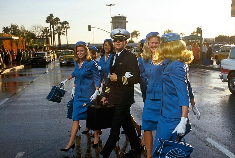 Leonardo DiCaprio in Catch Me if You Can van Steven Spielberg. Beeld