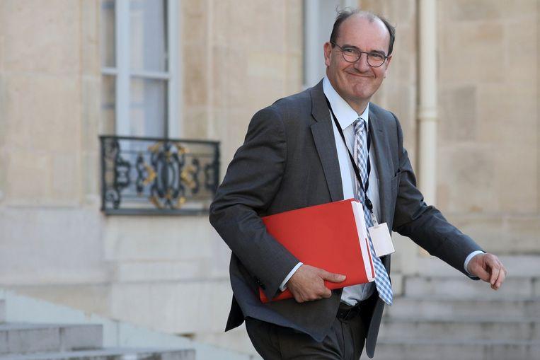 Jean Castex wordt de nieuwe Franse premier. Beeld Photo News