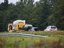 Kilometerslange file op A58: auto botst vol achterop caravan