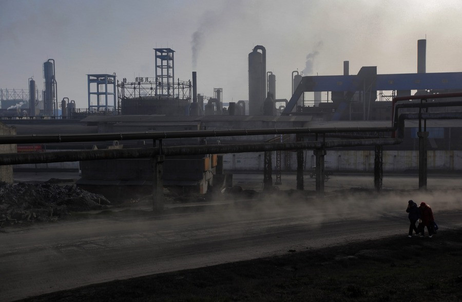 Chemische fabriek in China