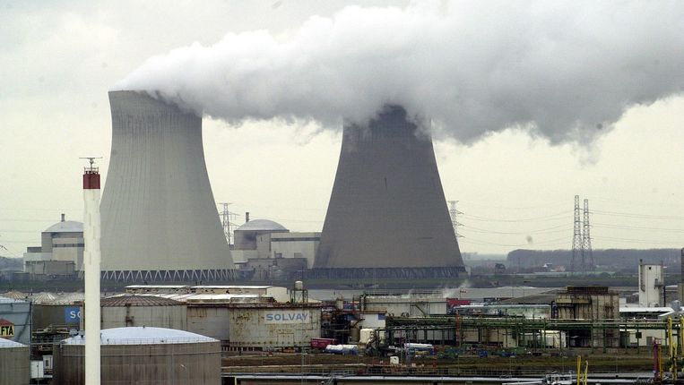 De kerncentrale van Doel. Beeld BELGA