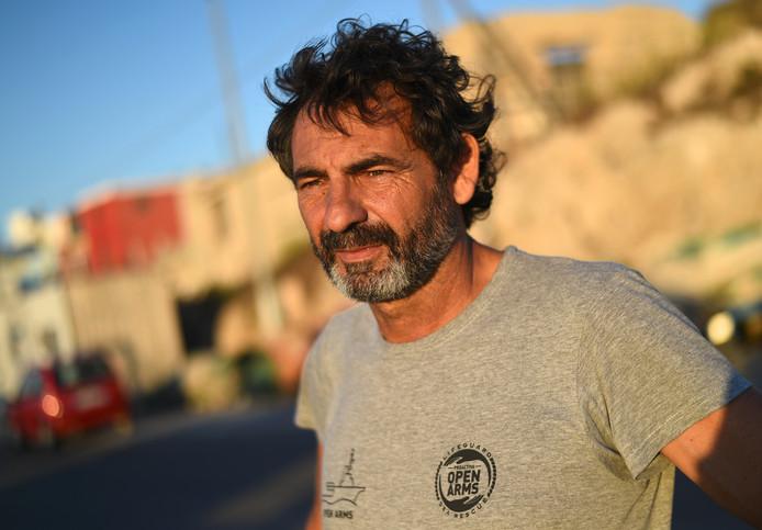 Oscar Camps, fondateur de Proactiva Open Arms