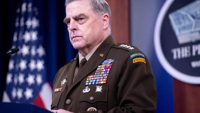"""""""Topman Pentagon belde China uit angst dat Trump oorlog zou starten"""""""