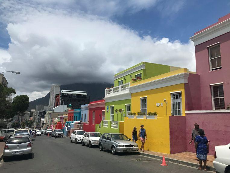 Kaapstad, met de Tafelberg op de achtergrond. Beeld Johan Tuyaerts