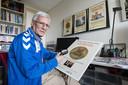 Leo Congert heeft de eerste reeks van twintig panelen bijna af. Nog voor Pasen zijn ze door iedereen te zien in het centrum van Borne.