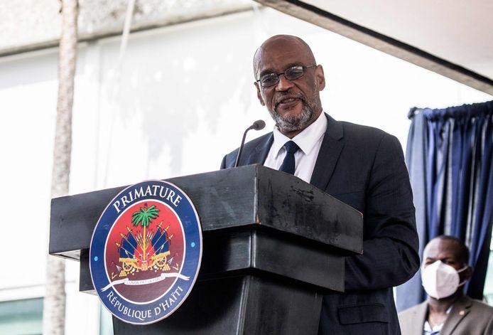 De Haïtiaanse premier Ariel Henry.