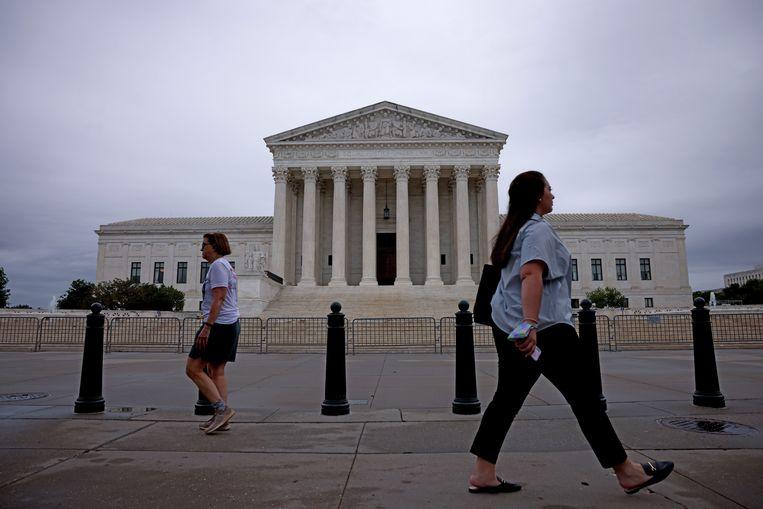Het Amerikaanse Hooggerechtshof. Beeld Getty Images