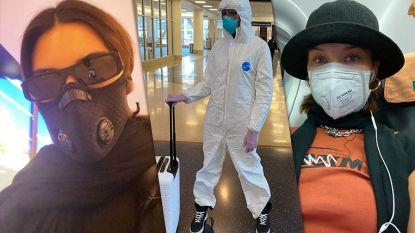IN BEELD. Zo beschermen celebrities zich tegen het coronavirus