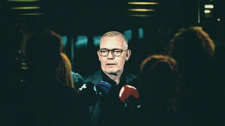 Søren Malling speelt hoofd Moordzaken Jens Møller Jensen. Beeld The Investigation