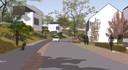 Zo moet de nieuwe wijk Het Plateau in Blixembosch, Eindhoven er uit gaan zien. Tegen de nieuwe geluidswal langs de Kennedylaan/A50 staan vrijstaande woningen gepland.