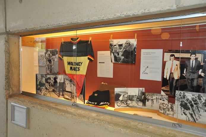 Memorabilia van Frans Verbeeck worden tentoongesteld in vrijetijdscentrum Mena in Rotselaar.