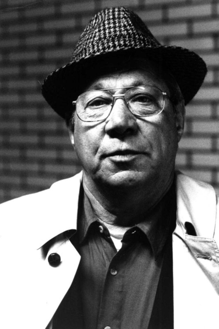 Piet Römer als de Cock met c-o-c-k. Beeld