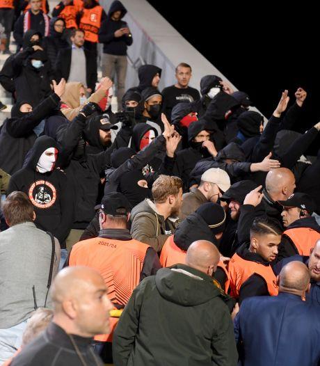"""L'Antwerp condamne fermement la violence des supporters : """"Cela nuit à l'image du club"""""""